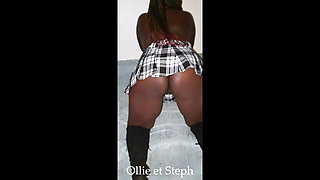 Ollie and steph: who wants my black ass !! ??
