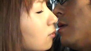 Horny Japanese slut Hina Umehara, Mizuki Akiyama, Anna Mutsumi in Exotic Bus JAV scene