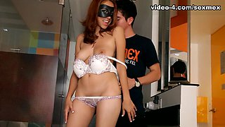 Fabiola in Strip and Squirt Video - SexMex
