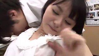 Hottest Japanese girl Nozomi Aiuchi, Kuroki Ichika, Tsumugi Serizawa in Crazy Fingering, Office JAV movie