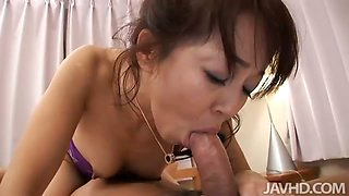 Japanese housewife Hiroko Akaishi spreads her old legs wide