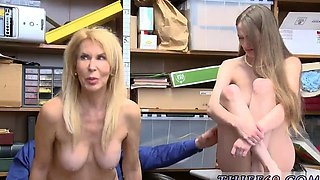 Police trample and getting caught squirting public xxx While