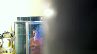 Mother in waw BBW shower compilation
