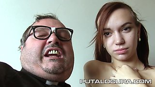 Puta Locura Priest Damian Takes Advantage Of Latina Schoolgirl
