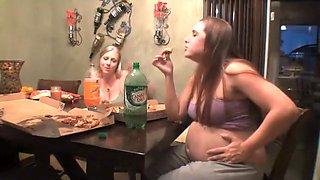Pregnant Pizza