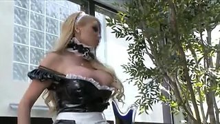 Horny Maid movie with Blonde,Stockings scenes
