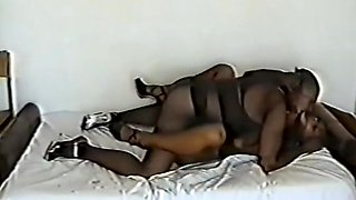 Couple in hot encasement sex 2