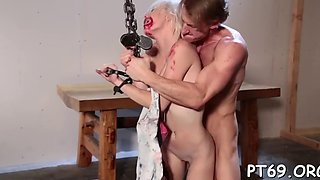 Babe gets abused and bonked