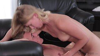 Crazy pornstars Violette, Martin Q in Horny Blonde, College sex video