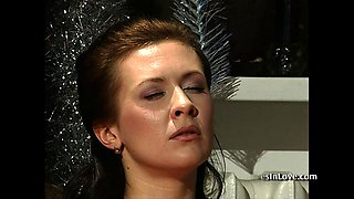 Slave Girl's Fantasies About New Year Celebration.