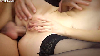 Two Teens Get Their Holes Filled