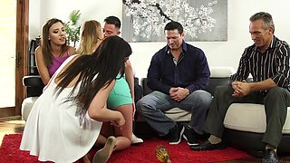hardcore group sex in the living room @ neighborhood swingers #19