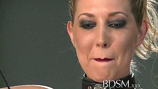 BDSM XXX Master gives blonde beauty a hardcore lesson