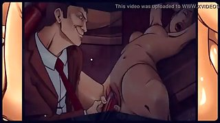 animated rough office sex