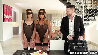 Hot mom Audrey Black and teen Ana Rose wants to be dominated