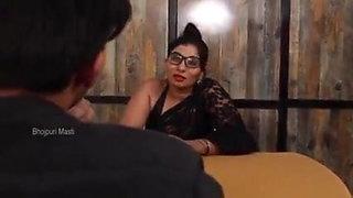 BBW Indian Black Saree AUNTY Fucking