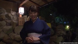 Horny Japanese women are interesred in a fellow's boner