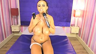 Danni Levy - Big Boobs & Oil #1