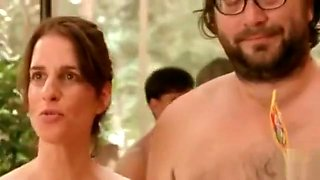 Nudist dance party from a German film