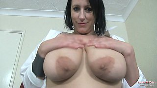Big Boobs Katrin Kozy Foam Fun