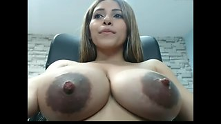 cam girl shoots milk out of her epic titties! part1- see more at bestsexycamgirls com