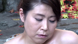 Busty asian mature
