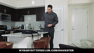 MYBabysittersClub- Hipster Babysitter Fucked By Her Boss