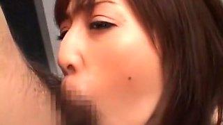 Amazing Japanese slut Lemon Tachibana in Crazy Blowjob/Fera, BDSM JAV clip