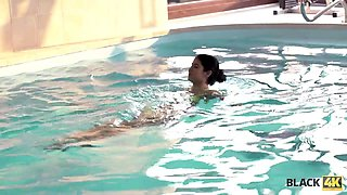 Swimming coach with huge cock fucks lovely teen lassie