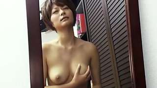 Best Japanese chick Haruki Sato in Amazing Solo, Big Tits JAV movie