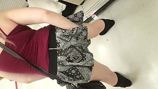 Flashing and dildo play in target