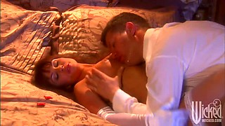 Groom Fucks The Sexy Bride Kirsten Price In Lingerie After Wedding