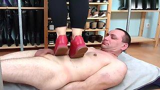 Pietinement en chaussures de sport