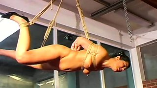 Heavenly hottie is masturbating for a male she likes