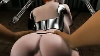 Extreme anal creampie in 3d porn