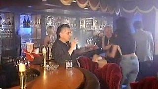 junior seduce old man in pub