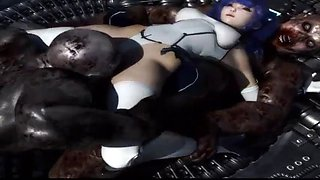 3d big tits alien hardcore animated sex