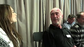 Old Young Porn Teen Gangbang by Grandpas pussy fucking