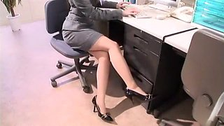 Best Japanese girl Aya Hirai in Fabulous Handjobs, Secretary JAV scene