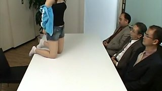 Crazy Japanese chick in Best Teens, Office JAV scene