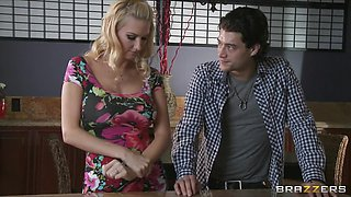 Brazzers - Lonely golden-haired wife Blake Rose cheats on spouse