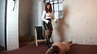Severe belts mistress slave hard