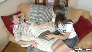 Sister Wake Up Bro with Blow Dick and Get Anal Fuck