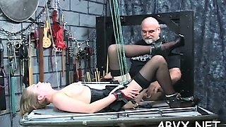 neat amateur home bondage extreme segment 2