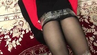 Iranian hijab milf  bondage with her lesbian partner part 1