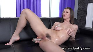 Nicoleta in Oiled Up And Ready at PuffyNetwork