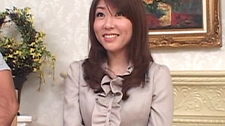 Sexy milf Mizuki Takaoka ripped pantyhose fuck!
