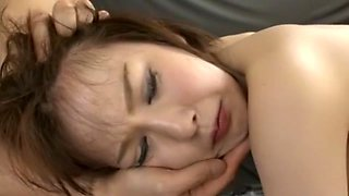 Exotic Japanese chick Ryo Tsujimoto in Incredible Dildos/Toys, Close-up JAV video
