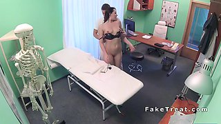 doctor tests and fucks patient
