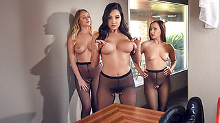 Karlee Grey & Bill Bailey in Hoes in Pantyhose - Brazzers